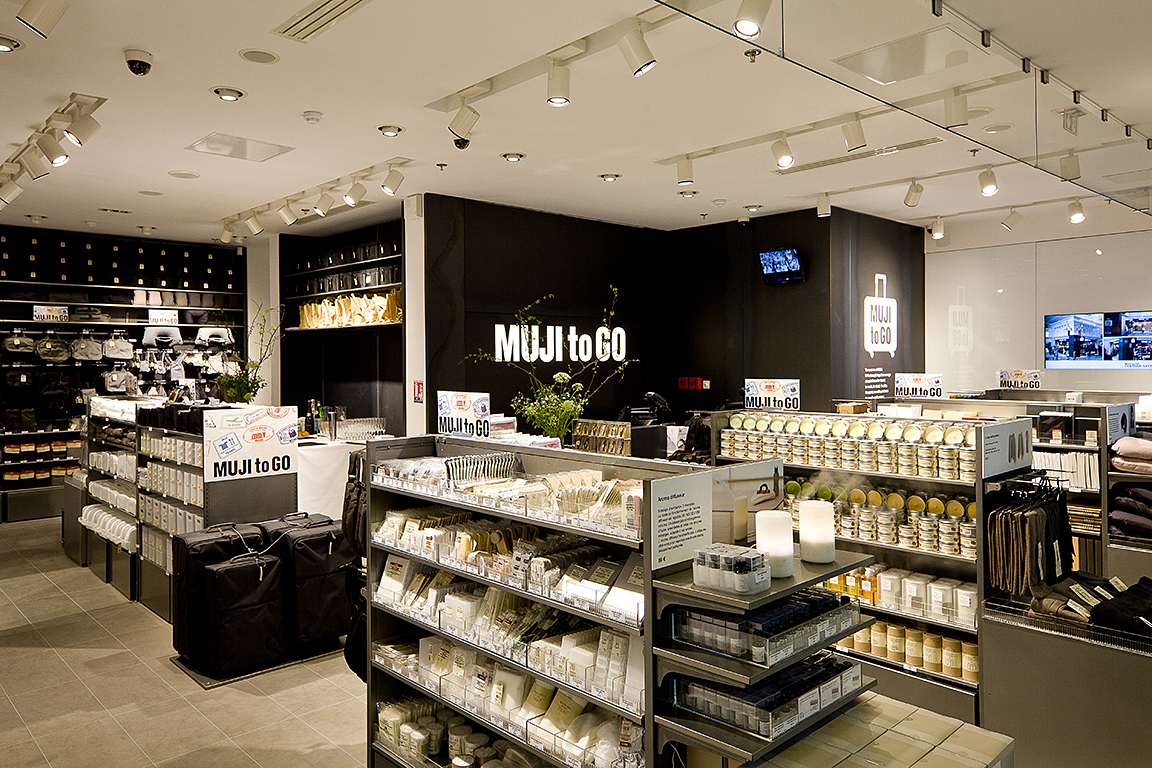 Boutique muji gare st lazare paris photographe portrait - Magasin japonais paris muji ...